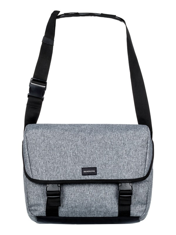 0 Carrier - Messenger Bag Grey EQYBA03065 Quiksilver