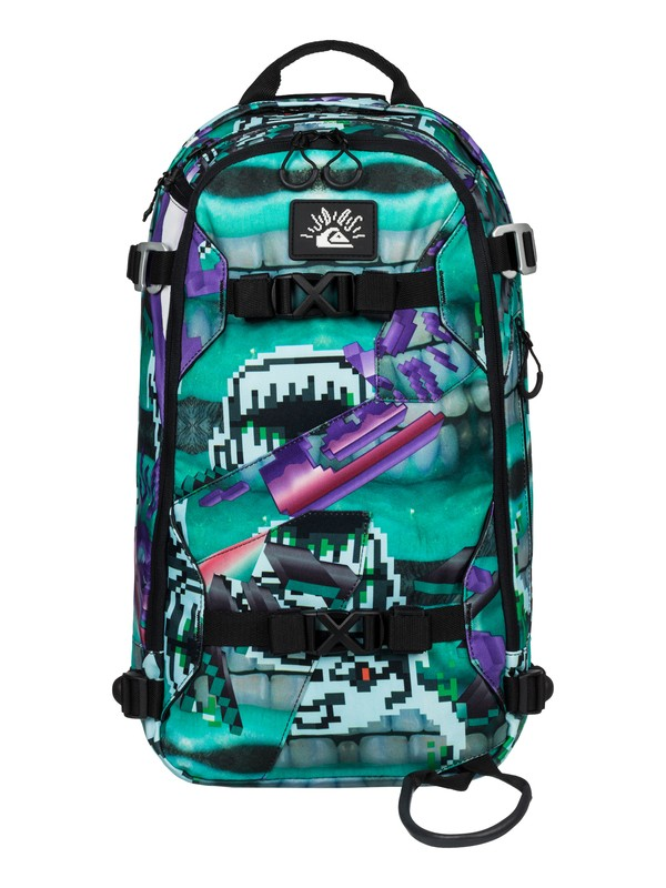 0 Julien David X Quiksilver Oxydized Pro Light - Sac à dos de snow  EQYBP03218 Quiksilver