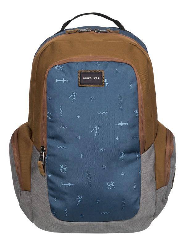 0 Schoolie - Medium Backpack Brown EQYBP03271 Quiksilver