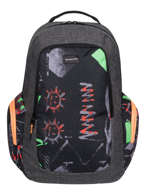 0 Schoolie - Medium Backpack Green EQYBP03271 Quiksilver