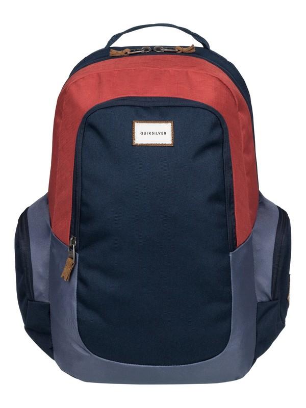 0 Schoolie - Medium Backpack Red EQYBP03271 Quiksilver