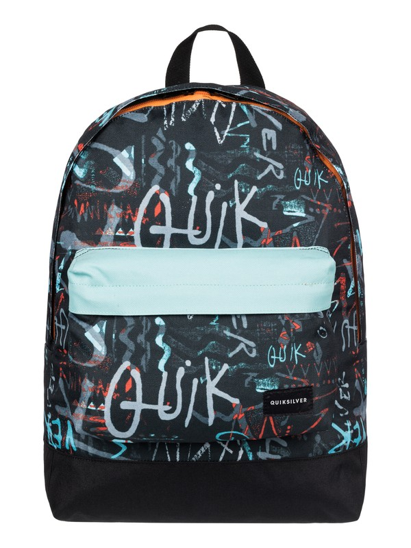 0 Everyday Poster - Medium Backpack Black EQYBP03277 Quiksilver