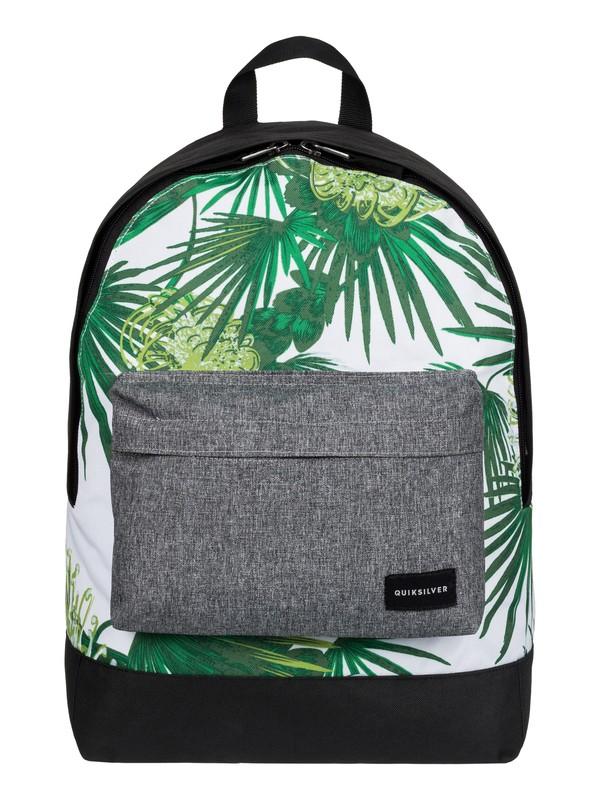 0 Everyday Poster - Medium Backpack White EQYBP03277 Quiksilver