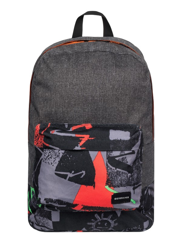 0 Night Track Print - Medium Backpack Green EQYBP03278 Quiksilver