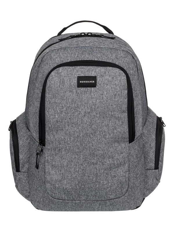 0 Schoolie - Medium Backpack Grey EQYBP03391 Quiksilver