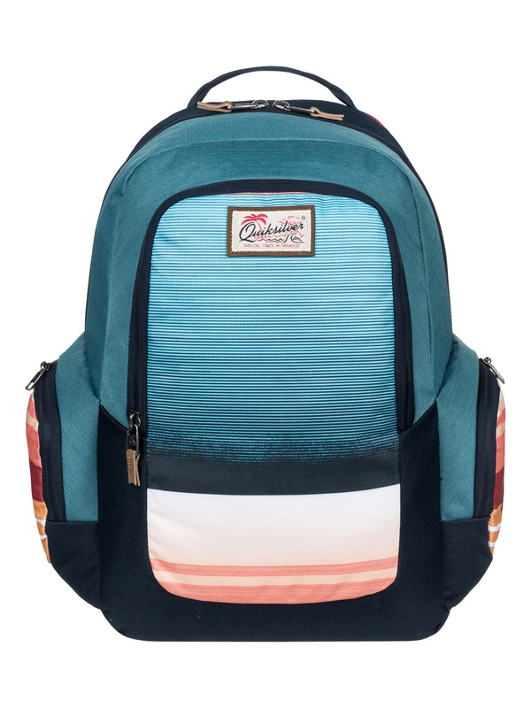 0 Schoolie - Medium Backpack Pink EQYBP03391 Quiksilver