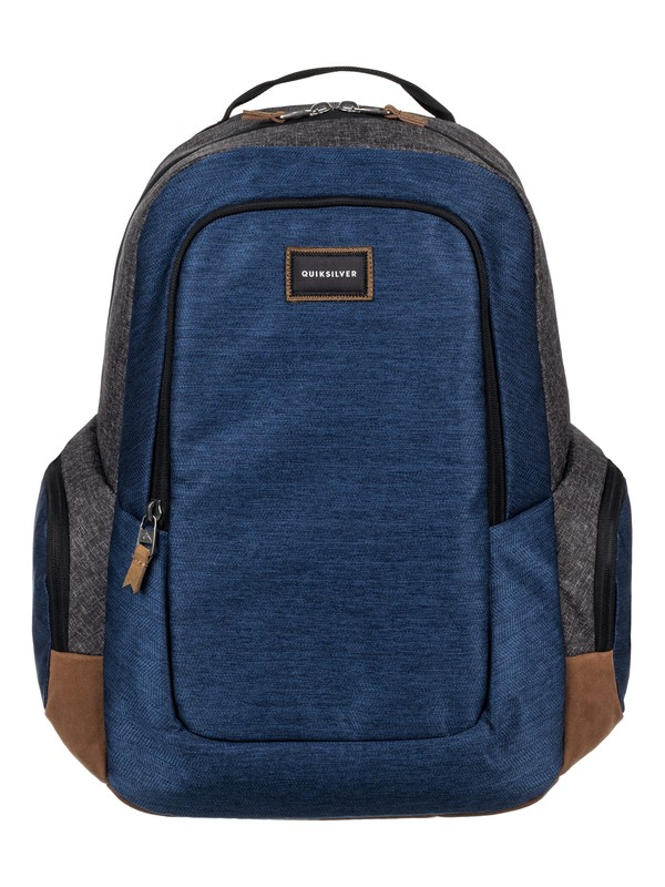 0 Schoolie Plus 25L Medium Backpack Blue EQYBP03403 Quiksilver