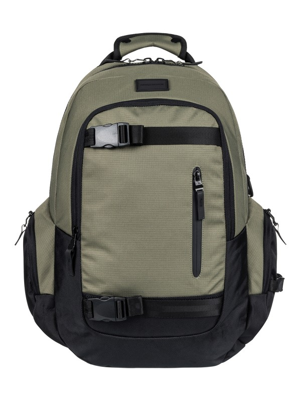 0 Raker - Medium Deluxe Backpack Brown EQYBP03404 Quiksilver
