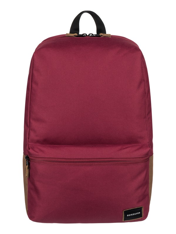 0 Night Track 24L Medium Backpack Red EQYBP03407 Quiksilver