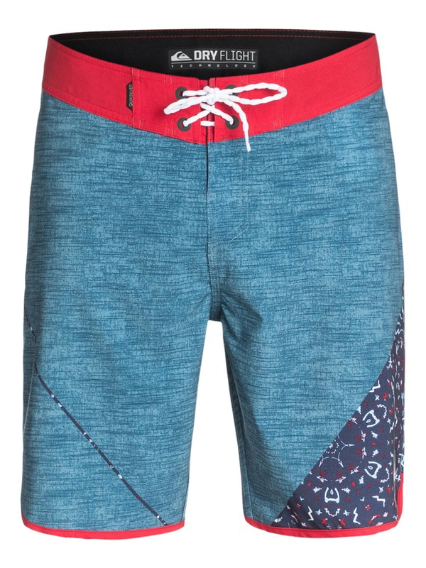 """0 AG47 New Wave 20"""" Repreve Boardshorts  EQYBS03120 Quiksilver"""