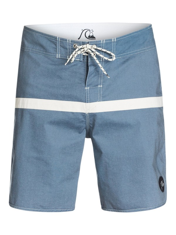 "0 Stripe Scallop 19"" Boardshorts  EQYBS03136 Quiksilver"