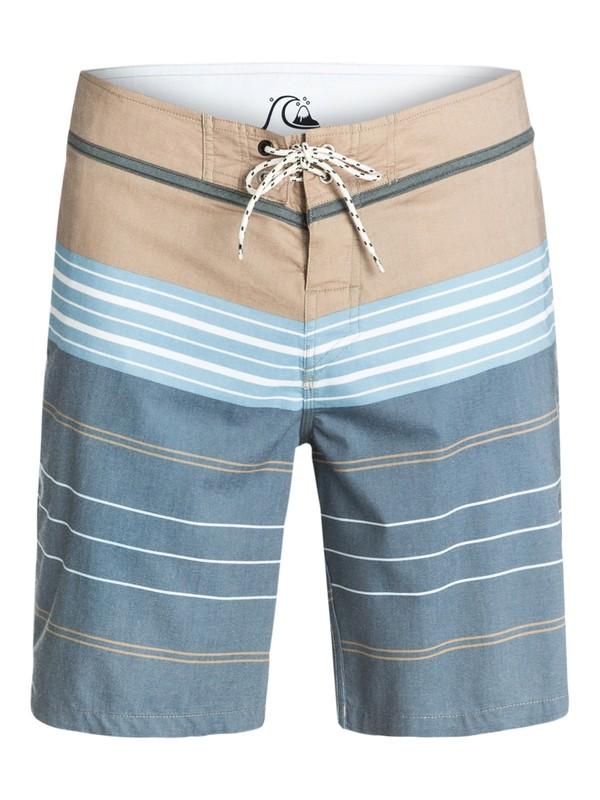"0 Atlantic Stripe 20"" Boardshorts  EQYBS03138 Quiksilver"