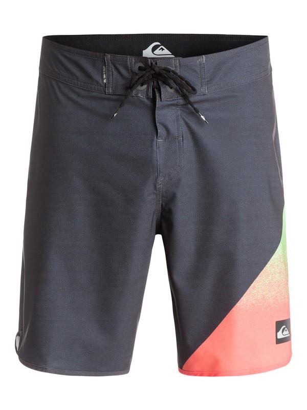 "0 AG47 New Wave 19"" - Boardshort Noir EQYBS03221 Quiksilver"