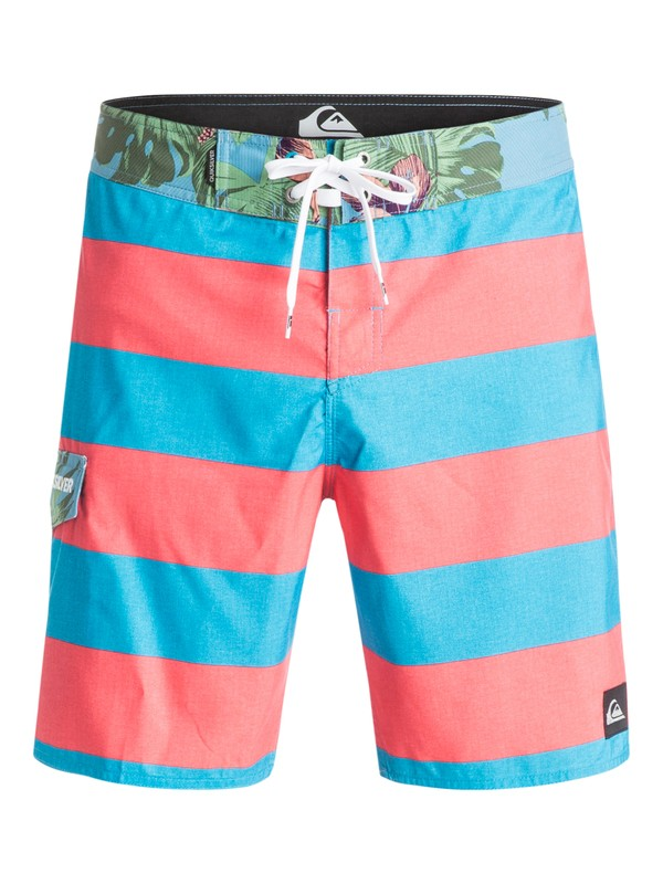 "0 Everyday Brigg 18"" - Boardshort Bleu EQYBS03240 Quiksilver"