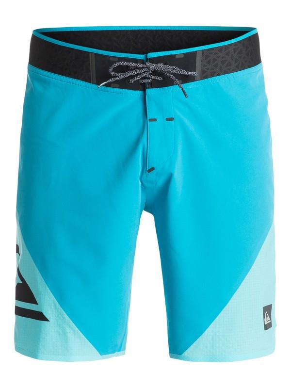 """0 New Wave High 19"""" - Boardshort Bleu EQYBS03249 Quiksilver"""