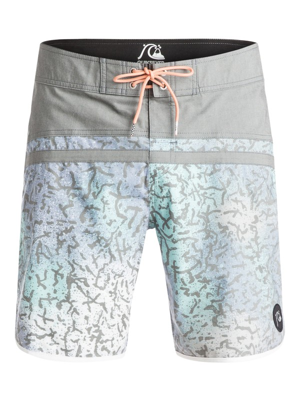 "0 Stomp Cracked Scallop 18"" - Boardshort  EQYBS03265 Quiksilver"