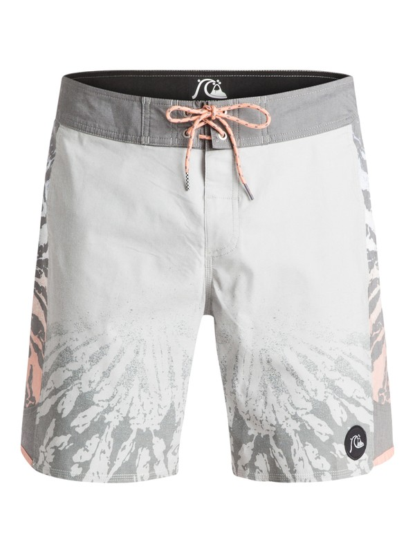 "0 Psych Arch 18"" - Boardshort Gris EQYBS03293 Quiksilver"