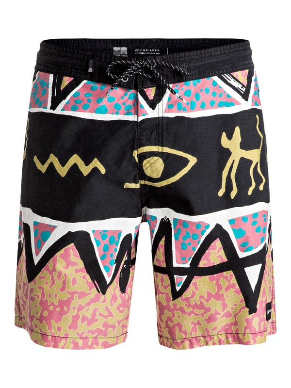 "0 Ghetto Vee 18"" - Beachshorts Rose EQYBS03429 Quiksilver"