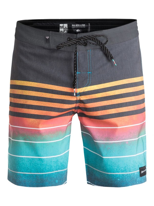 "0 Swell Vision Dye Vee 18"" - Beachshorts Bleu EQYBS03437 Quiksilver"