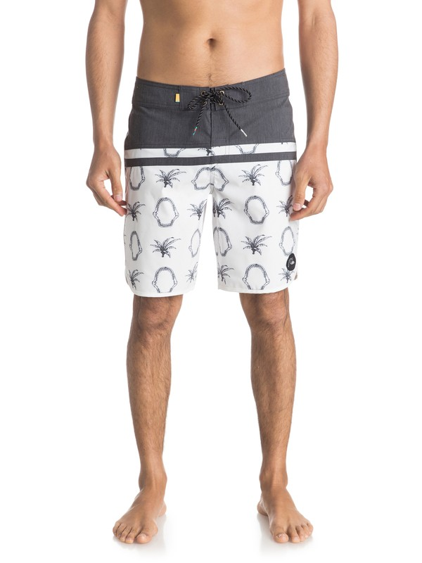 """0 Stomp Mix Scallop 19"""" Boardshorts  EQYBS03560 Quiksilver"""
