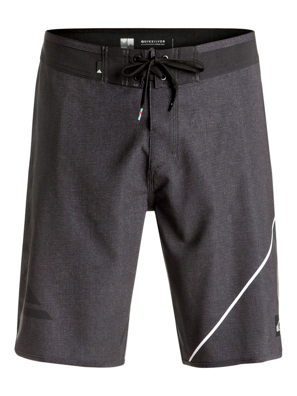 "0 New Wave 20"" Boardshorts Black EQYBS03568 Quiksilver"