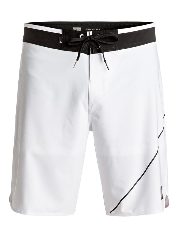 """0 New Wave 20"""" Boardshorts White EQYBS03568 Quiksilver"""