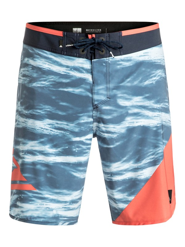 "0 New Wave 19"" - Boardshort Blue EQYBS03569 Quiksilver"