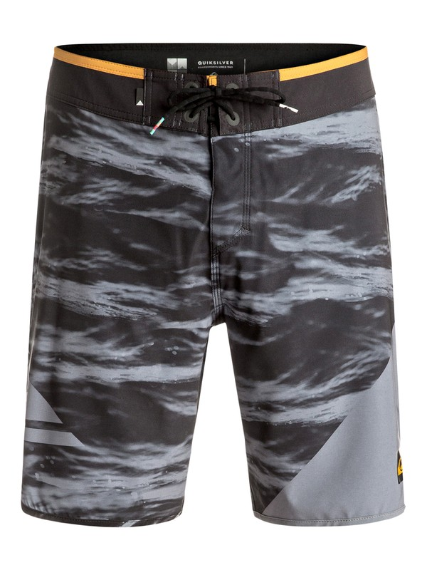 "0 New Wave 19"" - Boardshort Black EQYBS03569 Quiksilver"