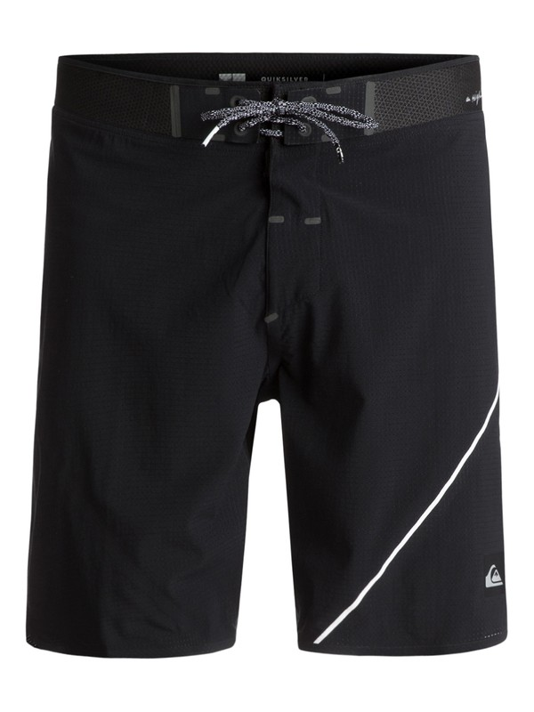 "0 New Wave Highline 19"" - Boardshort Noir EQYBS03571 Quiksilver"