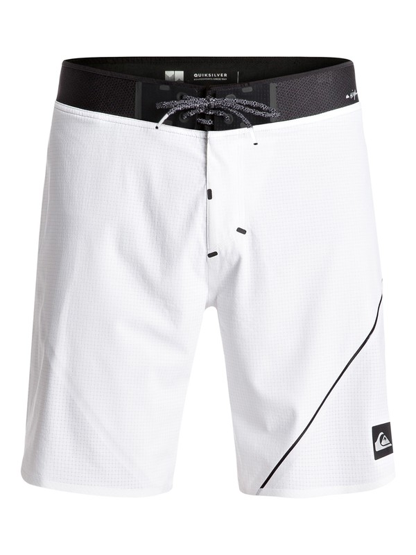 "0 New Wave Highline 19"" Boardshorts White EQYBS03571 Quiksilver"