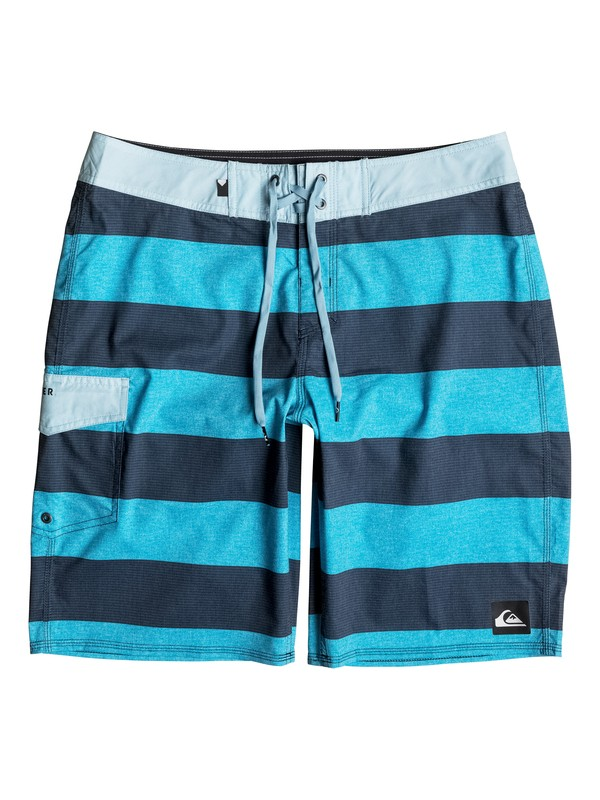 "0 Everyday Brigg Vee 20"" Boardshorts Blue EQYBS03572 Quiksilver"