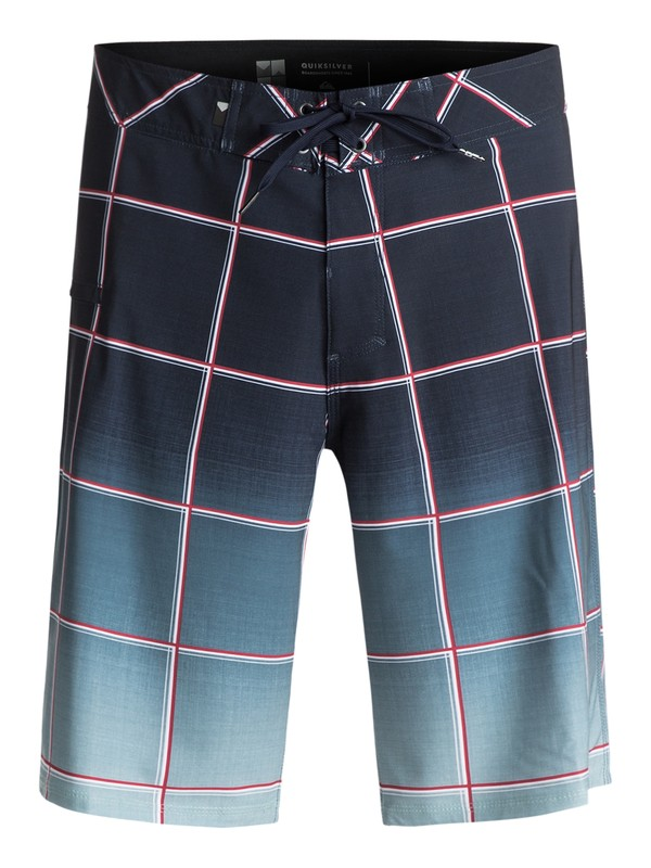 """0 Everyday Electric Vee 21"""" Boardshorts Blue EQYBS03574 Quiksilver"""