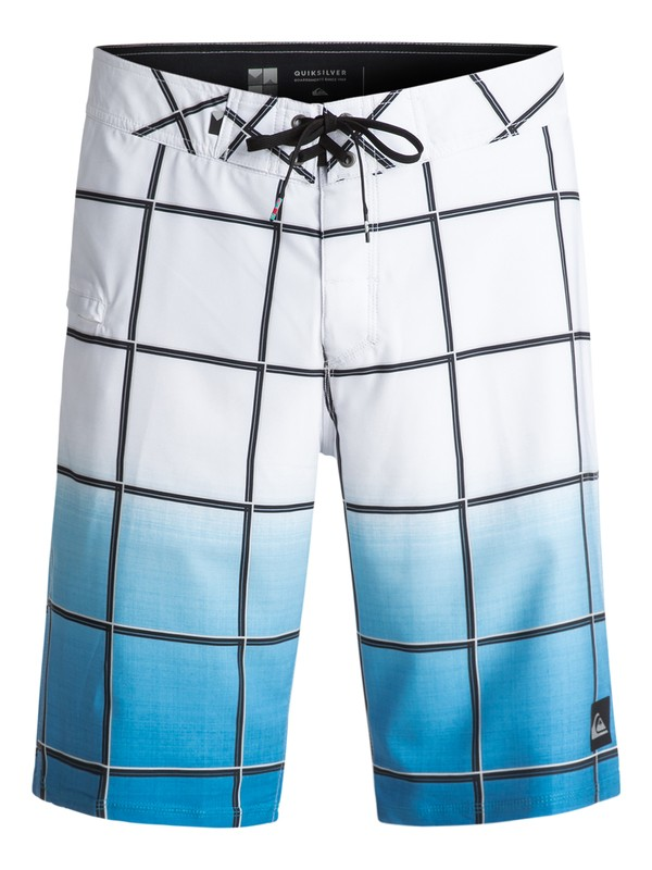 "0 Everyday Electric Vee 21"" Boardshorts White EQYBS03574 Quiksilver"