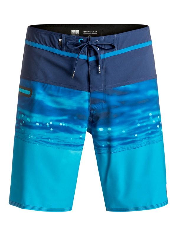 """0 Hold Down Vee 19"""" - Boardshort Bleu EQYBS03580 Quiksilver"""