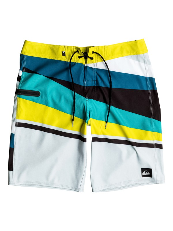 "0 Slash Vee 20"" Boardshorts Yellow EQYBS03584 Quiksilver"
