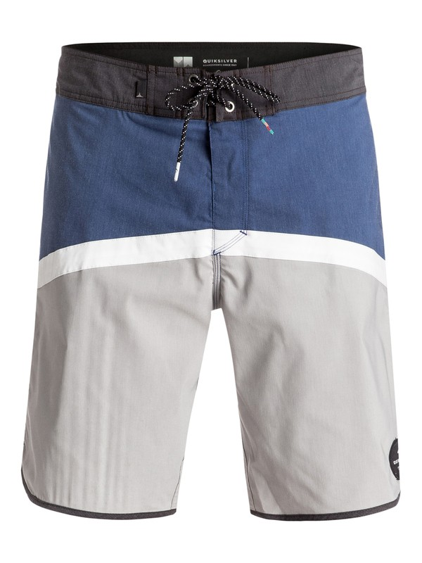 "0 Crypto Scallop 20"" Boardshorts Blue EQYBS03595 Quiksilver"