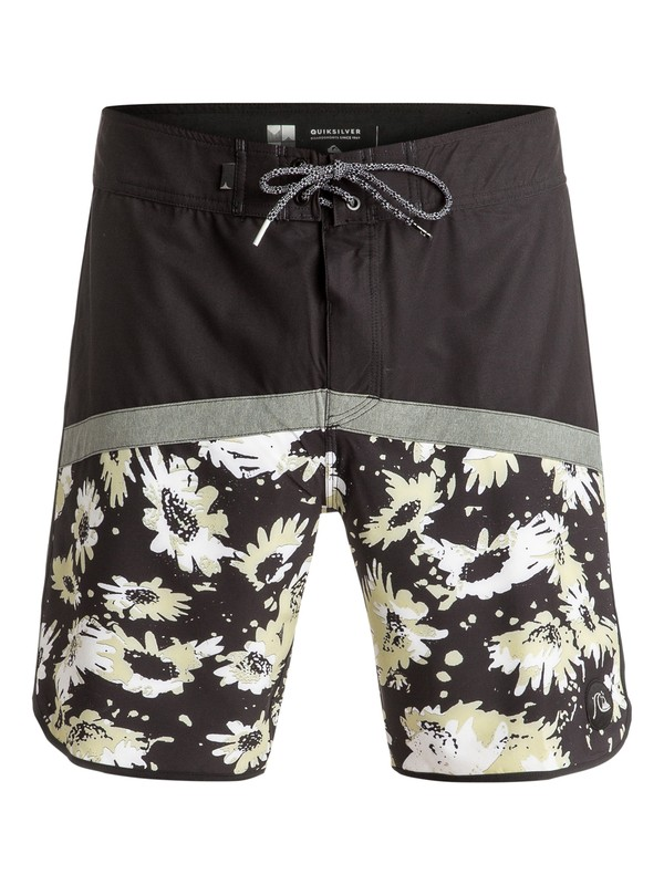 "0 Crypt Scallop 18"" - Boardshort Black EQYBS03599 Quiksilver"
