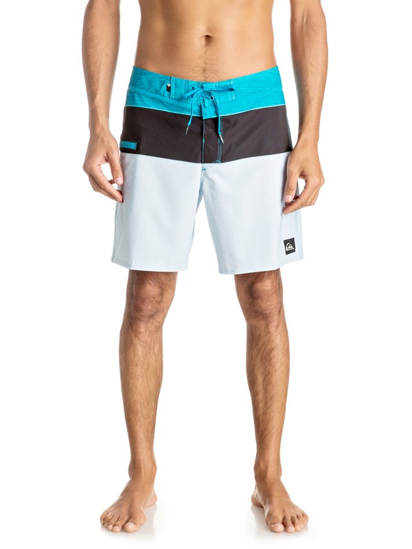 "0 Everyday Blocked Vee 17"" - Boardshort  EQYBS03607 Quiksilver"