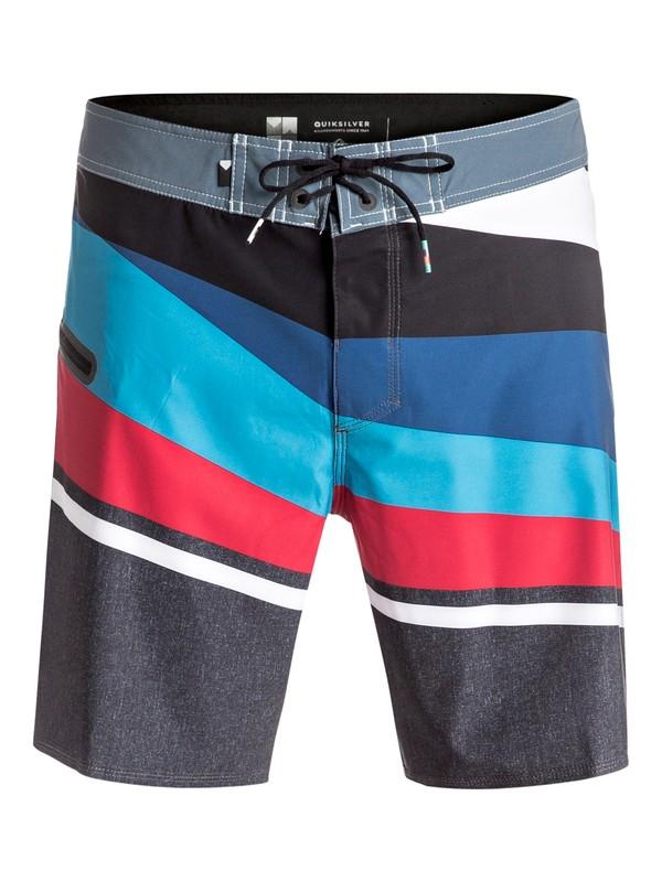 """0 Slash Vee 18"""" - Boardshort Bleu EQYBS03609 Quiksilver"""