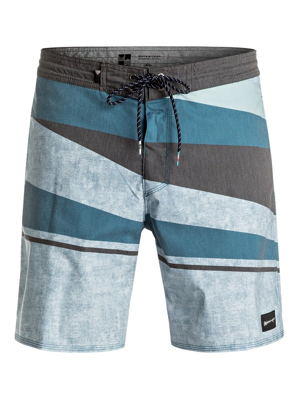 "0 Slash 18"" Beachshorts Blue EQYBS03616 Quiksilver"