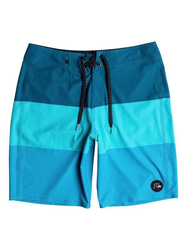 """0 Isla Todos Vee 20"""" Boardshorts Blue EQYBS03666 Quiksilver"""