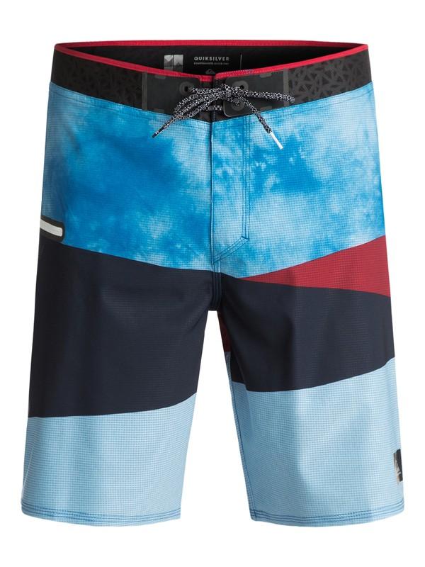 "0 Slash 20"" Boardshorts Blue EQYBS03677 Quiksilver"