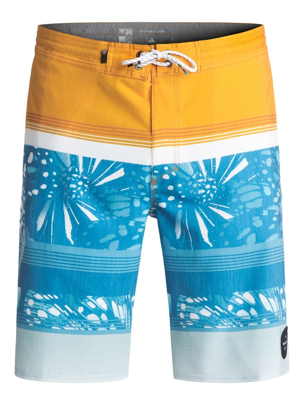 "0 Swell Vision 20"" Beachshorts Yellow EQYBS03707 Quiksilver"