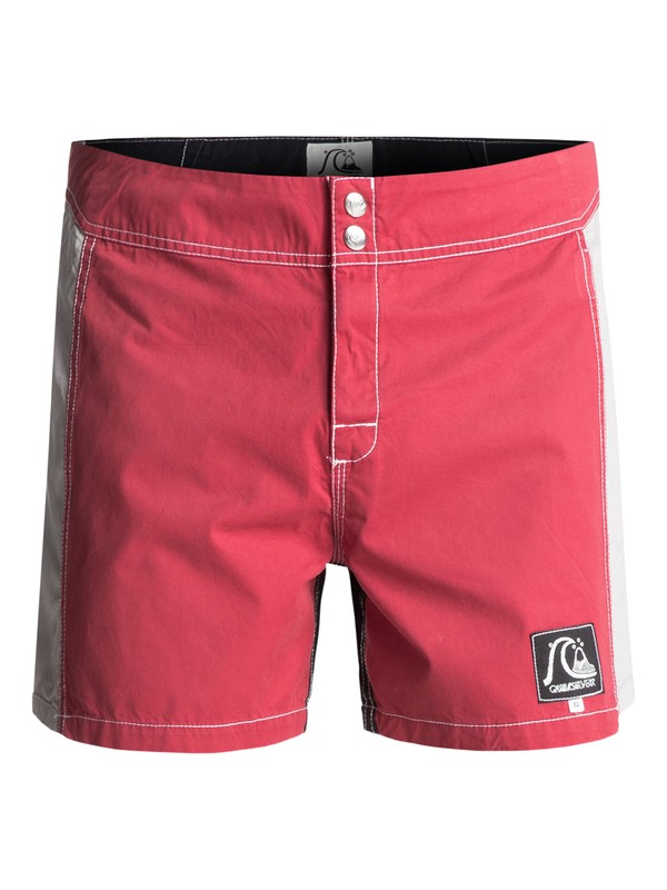 """0 Original Arch 15"""" Boardshorts Red EQYBS03721 Quiksilver"""