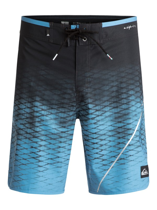"0 New Wave 19"" Boardshorts Black EQYBS03740 Quiksilver"