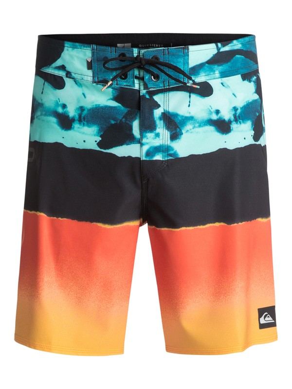 "0 Blocked Resin Camo 18"" - Boardshort Blue EQYBS03741 Quiksilver"