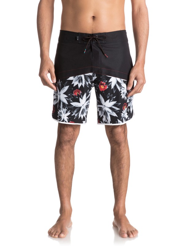"0 Crypt Scallop 18"" - Boardshort Black EQYBS03743 Quiksilver"