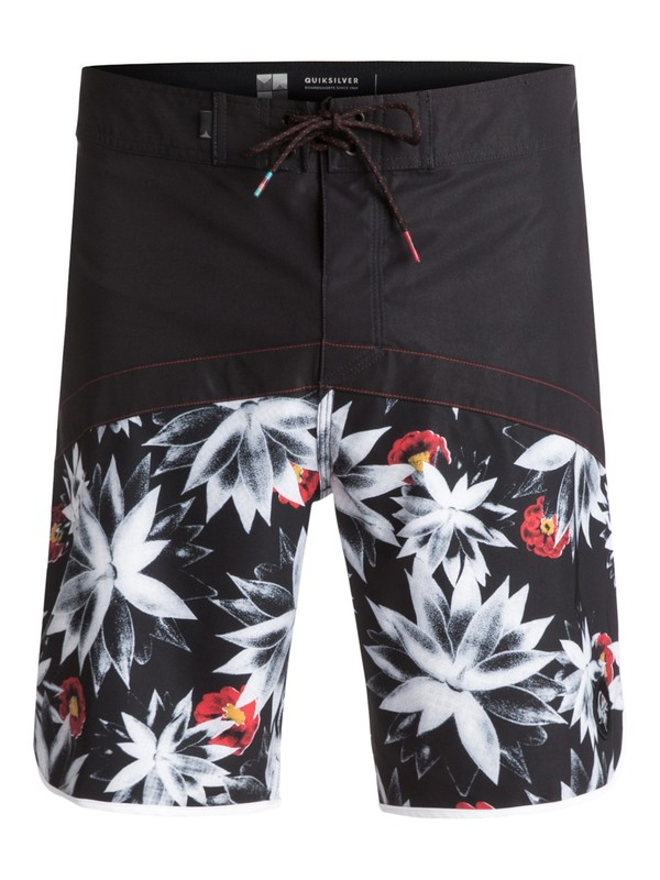 "0 Crypt Scallop 20"" Boardshorts Black EQYBS03744 Quiksilver"