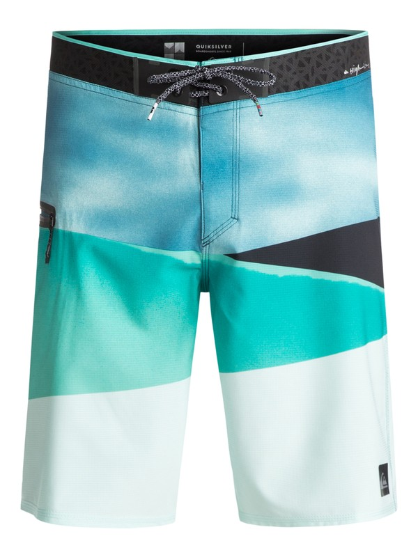 "0 Slash Vee 20"" - Boardshort Blue EQYBS03746 Quiksilver"