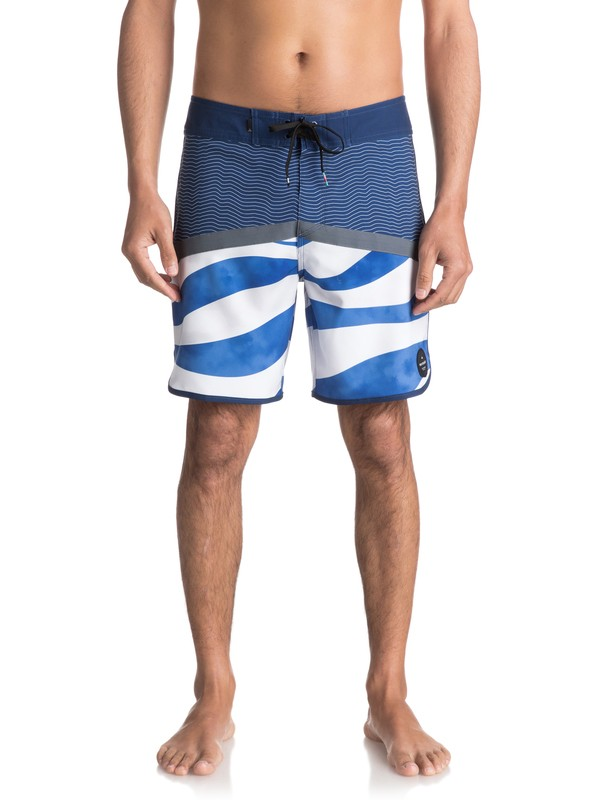"0 Crypto Heatwave 18"" - Board Shorts Blue EQYBS03750 Quiksilver"